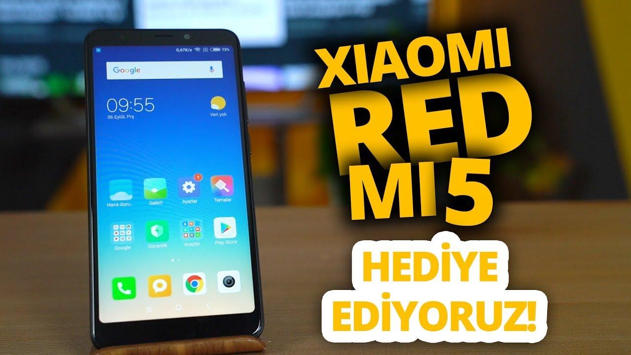 Xiaomi Redmi 5 inceleme! - Hediyeli video!