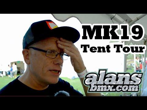 AlansBMX - RadBMX MK19 2019 Tent Tour With Alan Woods