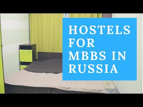 Hostel Facility for Indian students studying MBBS in Russia - Global Medical Foundation