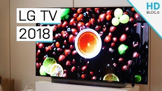 TUTTI I TV LG 2018: OLED, LCD E PROCESSORE ALPHA 9