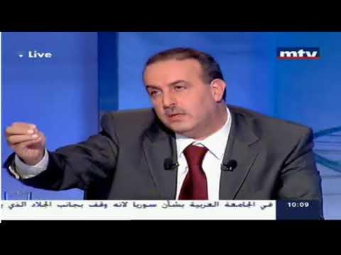 Lebanese Politicians Fight on Live TV   MTV LEBANON