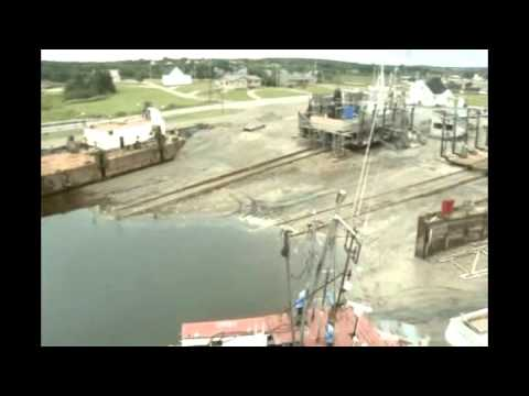 Aerial View of Marine Railways