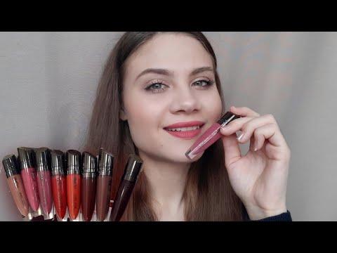 Обзор губной матовой помады The ONE Lip Sensation Velvet Matte ORIFLAME (все оттенки)