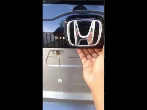 Honda Fit Stuck Rear Door/ Trunk/ Hatch Latch