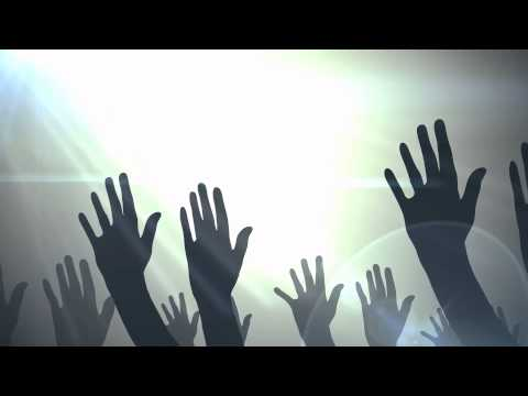 Hands Raised Motion Background 1