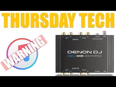 Denon DJ DS1 And ITunes 12.2 Warning (Thursday Tech)