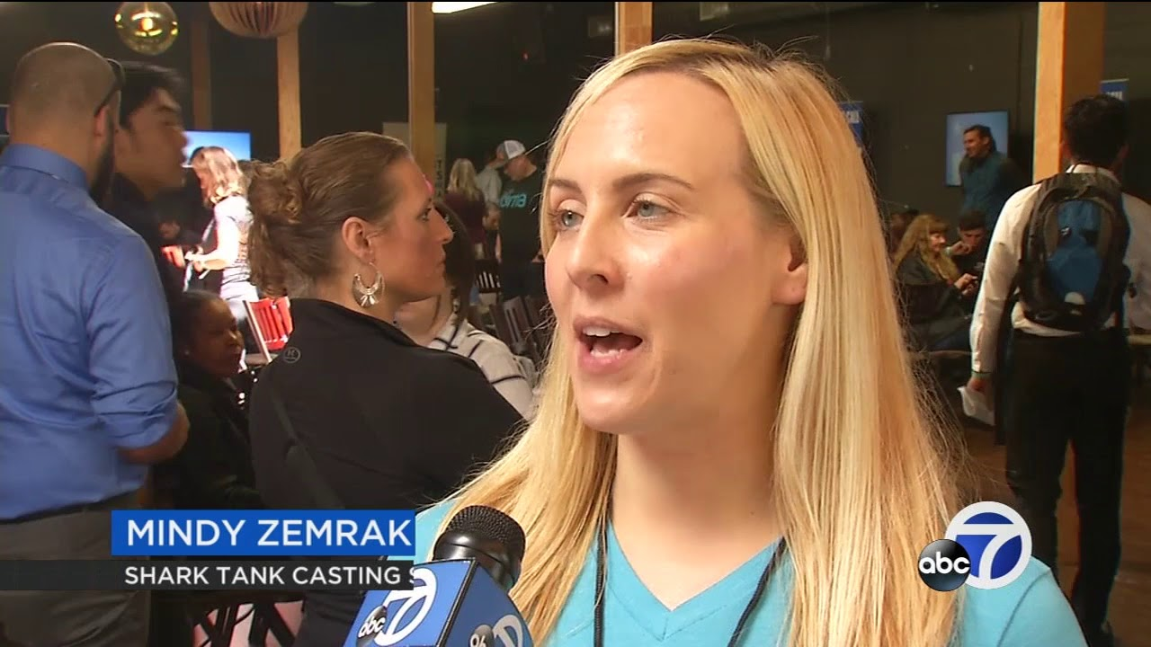 Entrepreneurs Pitch Their Ideas To Shark Tank Producers In San Francisco