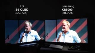 (Amazon HDR) LG B6 OLED vs. Samsung KS8000