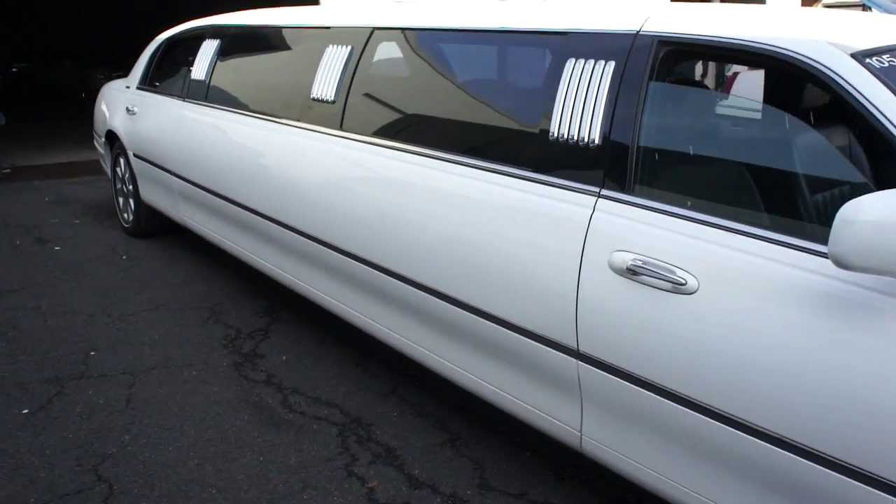 2004 Lincoln Town Car Limousine For Sale 9 Passenger Stretch Limo