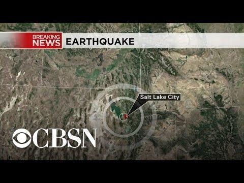 Salt Lake Valley Hit By Magnitude 4.2 Aftershock Four Weeks After ...