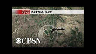 Earthquake rattles Salt Lake City area in Utah