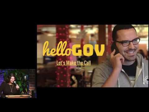 HelloGov Demo at Debug Politics SF2 Hackathon