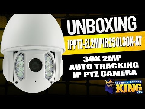 Unboxing: 30X 2Megapixel Auto Tracker IR IP PTZ Security Camera -  IPPTZ-EL2MPIR250L30X-AT