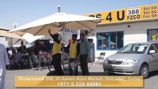 Jan Japan Used Cars Sale - Cars 4 U, FZCO Dubai Auction April 16, 2016(https://janjapan.com Watch Cars 4 U, FZCO having an auction for used cars in Al Aweer Auto Market, DUCAMZ, Dubai. For more information & thousands of ..., 2016-04-16T13:52:53.000Z)