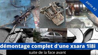 démontage compartiment moteur de la xsara #2