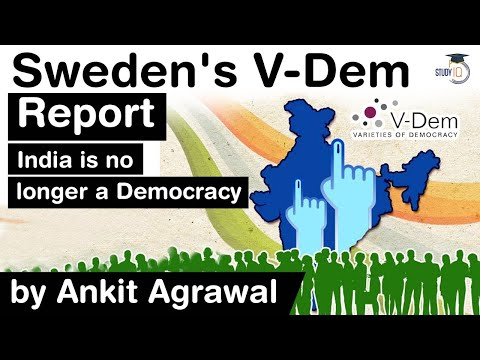 What is Electoral Autocracy? Sweden's V Dem Institute report says India is NO LONGER a Democracy