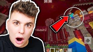 Minecraft na Telefon - TRAFIŁEM DO ŚWIATA HEROBRINA!! #18