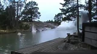 Lightning Strikes Water