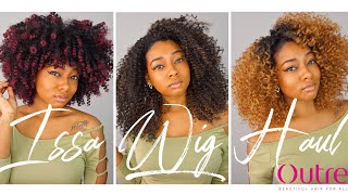 Curly Natural Wig Haul For Black Women | Beginner Wig Tutorial | OUTRE