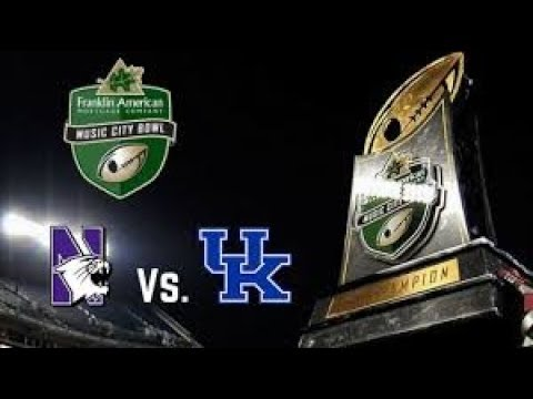 Kentucky Wildcats - Northwestern Wildcats Music City Bowl Preview
