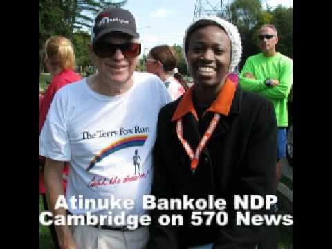 NDP Atinuke Bankole 570 News Interview