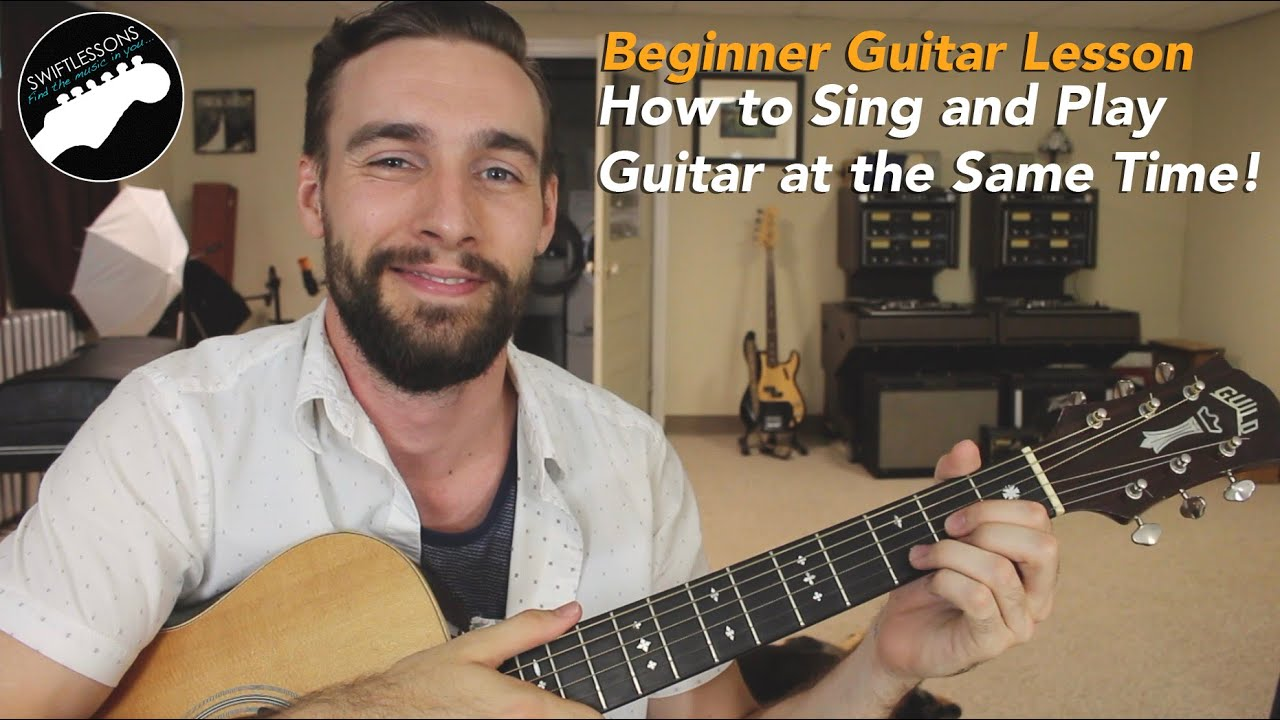 beginner guitar lesson how to sing and play at the same time 5 tips youtube. Black Bedroom Furniture Sets. Home Design Ideas