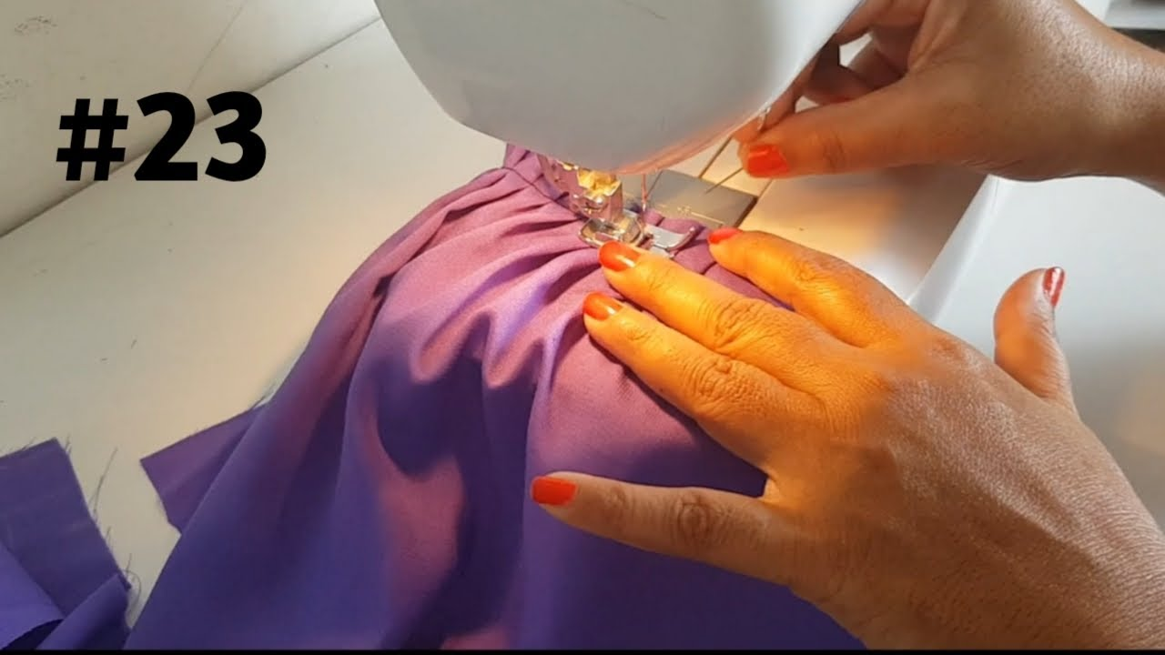 बेबी फ्रॉक की  स्टिचिंग Baby circle Frock cutting and stitching