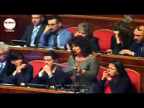 M5s nugnes nomi e cognomi di sponsor e politici youtube for Politici di destra nomi