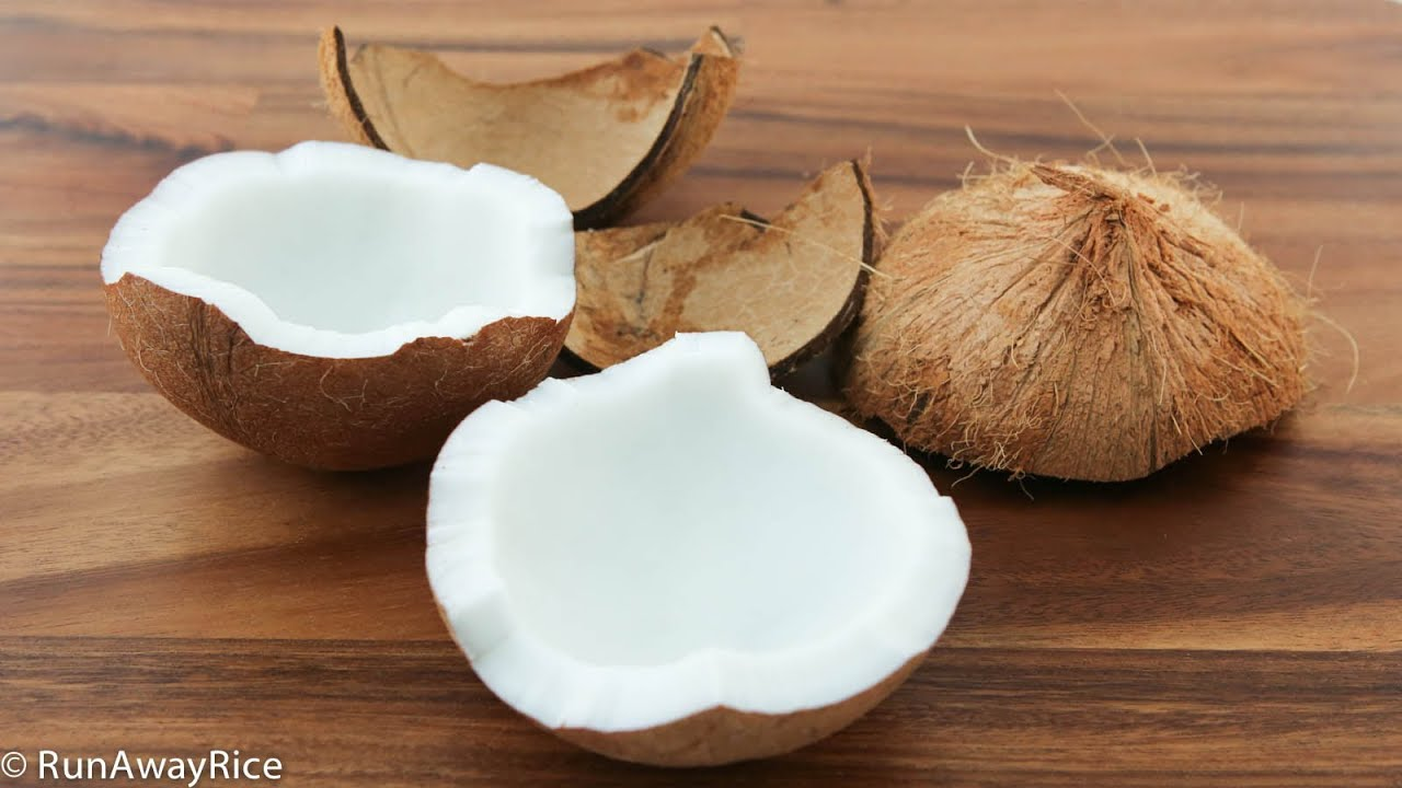 How to eat coconut