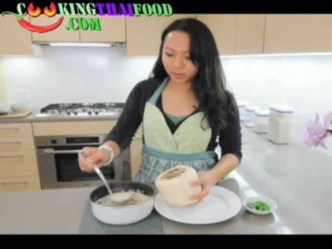 Thai Recipes Thai Coconut Chicken Soup – How to Make Tom Kha Gai Video or Tom Kha Kai