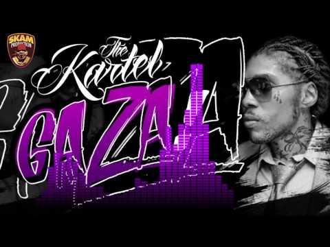 Dj Skam - Gaza (30Min Vybz Kartel Mixé) - official Vidéo Cover