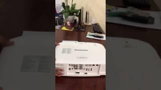 Máy chiếu Panasonic PT- EZ590- Máy chiếu Panasonic Full HD- Máy chiếu dùng cho hội nghị trực tuyến