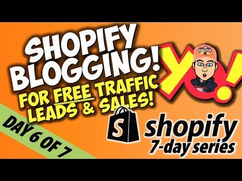 [6/7] ZERO TO $100K - SHOPIFY BLOGGING TIPS TO MAKE SALES | Chris Record Vlogs 106