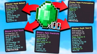 "MY NEW ""HERO"" GOD SET! (Minecraft Ice Factions #48)"