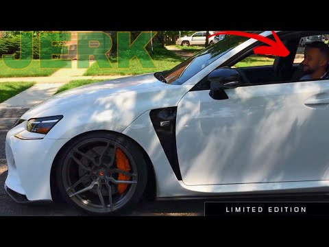 LEXUS GS-F Owner reacts to Worlds Cheapest Track Wheels!
