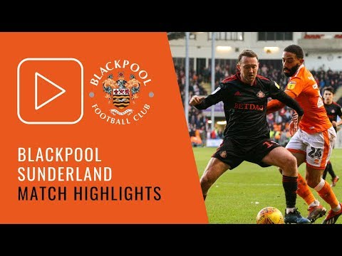 Highlights | Blackpool 0 Sunderland 1