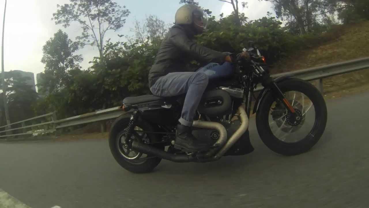 Harley Davidson Sportster Nightster Caferacer Bratstyle