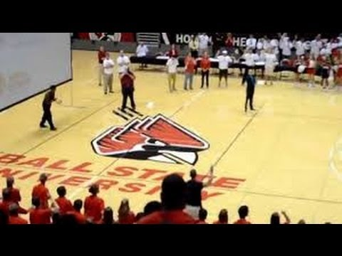 Ball State Freshman Sinks Half-Court Shot For Free Tuition