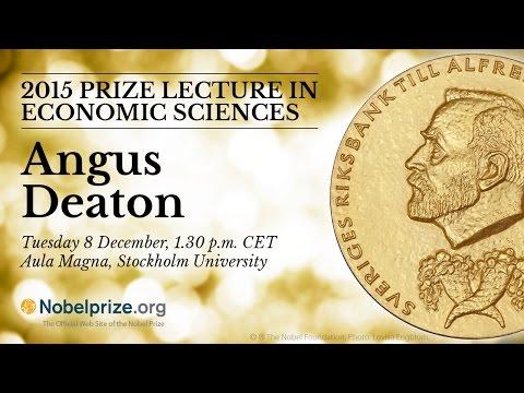 2015 Nobel Lecture in Economic Sciences