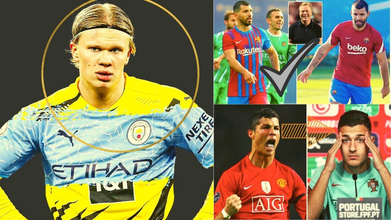 Download Man City oo talaab u qaaday la wareegida Haaland,Pogba oo u maraya Real,Aguero o durba dhaliyay+Suqa
