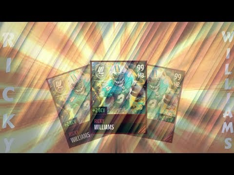 BOSS ULTIMATE LEGEND RICKY WILLIAMS GAMEPLAY!! BEST TACKLE BREAKER IN THE GAME!! MADDEN MOBILE 17