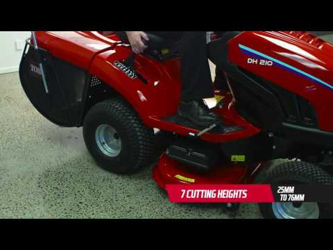 Announcing the NEW Toro DH210
