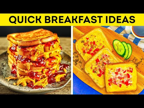 Quick Breakfast Ideas For Busy Mornings || Tasty Recipes to Start Your Day!