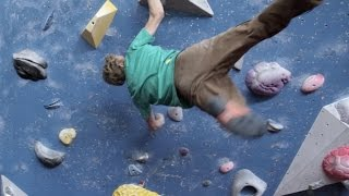 Power climbing motivation - Louis Parkinson