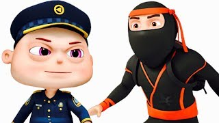Zool Babies Series - Ninja Thief Episode (Single) | Cartoon Animation For Children | Kids Shows