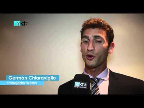 Chiaraviglio se prepara para los Juegos: Me llegan en mi mejor momento