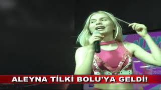 ALEYNA TİLKİ BOLU'YA GELDİ! (23.09.2018)
