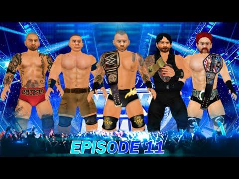 Download Wr3d 2k21-Smackdown live episode 11    custom fed