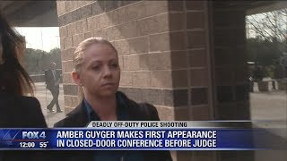 Ex-Dallas Police officer Amber Guyger makes first court appearance in Botham Jean death