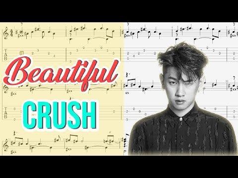 Beautiful - Crush (Fingerstyle TABs)